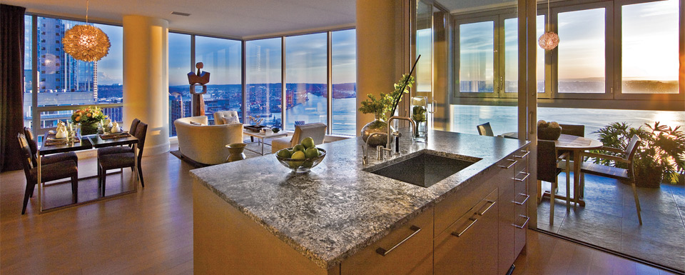 Luxury Condominium Homes in Downtown Seattle