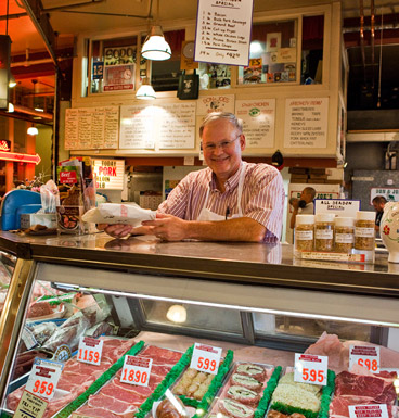 """Many of those who visit are longtime customers whom we have come to know on a first-name basis. I met my future wife in the Market."""